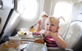 Travelling with small children