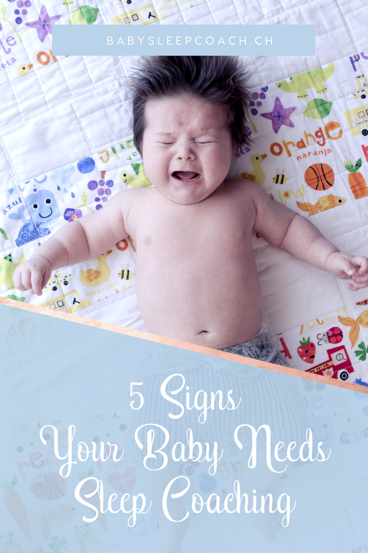 How to know if your child's bad sleep is just a phase or a habit? Here are 5 signs your child needs sleep coaching. #babysleep #babysleeptips #sleepcoaching #sleeptraining #sleeptips
