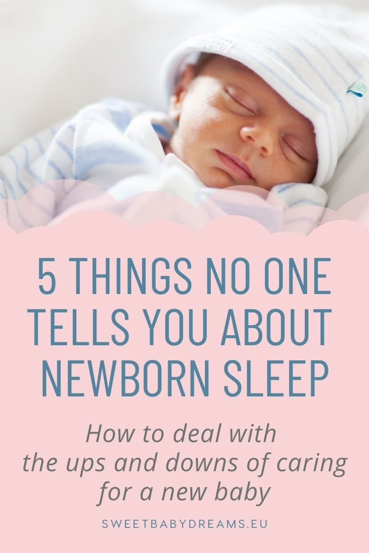 5 things no one tells you about newborn sleep